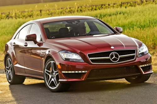 Used 2014 Mercedes Benz Cls Class Cls63 Amg 4matic Pricing For Sale Edmunds