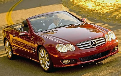 Used 2008 Mercedes Benz Sl Class Pricing For Sale Edmunds