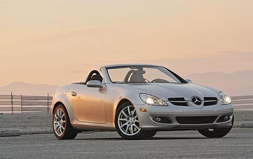 Used 2008 Mercedes Benz Slk Class Convertible Pricing