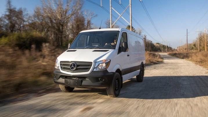 2018 Mercedes Benz Sprinter Worker Van Pricing Features