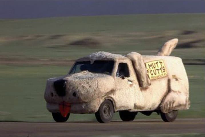 The 100 Greatest Movie and TV Cars - Dumb and Dumber Mutt Cutts Van