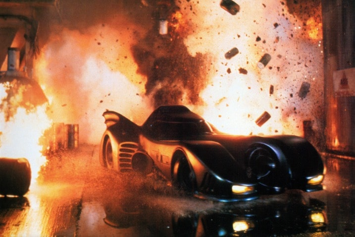 The 100 Greatest Movie and TV Cars - Batman Tim Burton's Batmobile