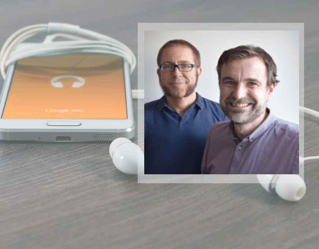 Digitaliseringsämnen. Podcasten Effekten arbetsmöte.