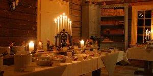 Julbord på Wärdshuset i det gamla köket