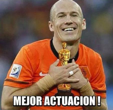 Meme Robben Oscar