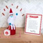 Elf Quarantine Return Letter The Elf On The Shelf