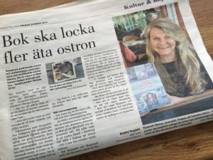 Norra Halland: Bok ska locka fler äta ostron