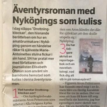 """""""Äventyrsroman med Nyköping som kuliss"""""""