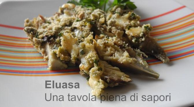 Carciofi al forno, una  ricetta semplice e appetitosa.