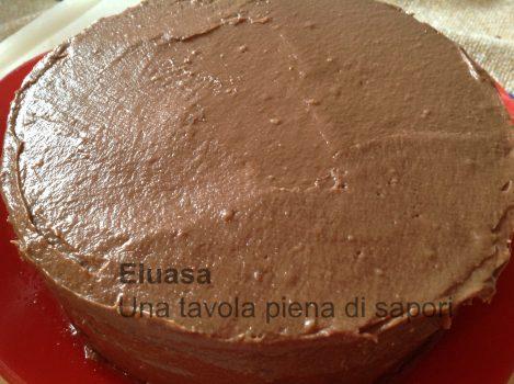 torta al cioccolato ricoperta