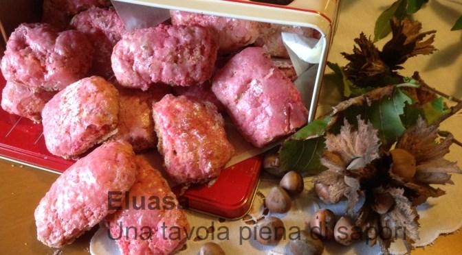 Biscotti rosa