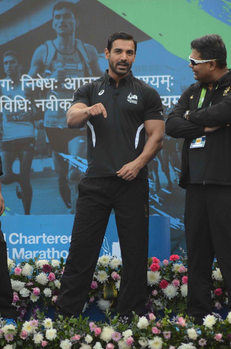 John Ibrahim is part of SCMM 2017- Standard Chartered Mumbai Marathon
