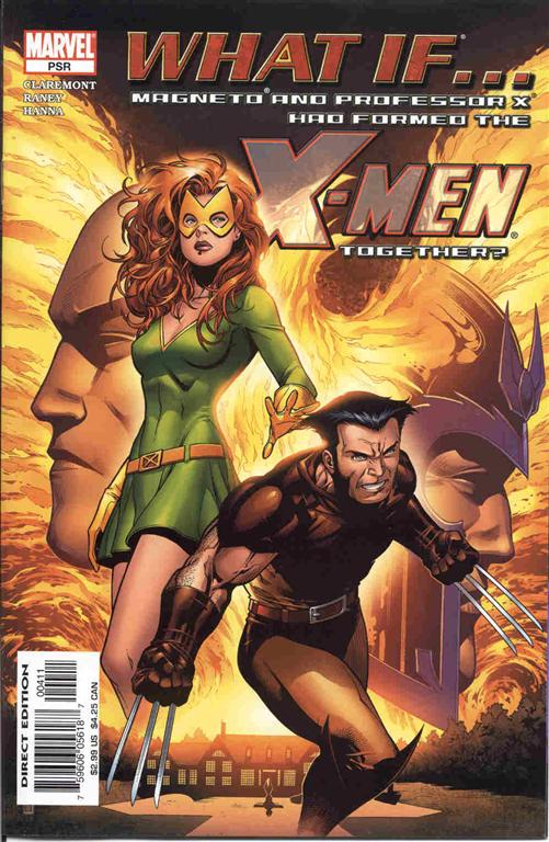 What If Magneto Amp Professor X Had Formed X Men Together 2005 1 Emma Frost Files