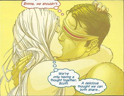 "Married Scott & Emma ""doing it"" during mindlink... is it ..."