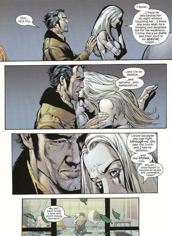 Emma Frost's Relationship With Wolverine