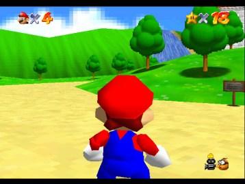 Super Mario 64 - Jedna od prvih uspesno emuliranih igara sa Nintenda 64