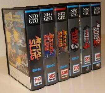 Kolekcija Metal Slug kertidža za Neo Geo
