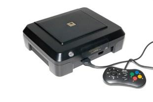 Neo Geo CD front loader