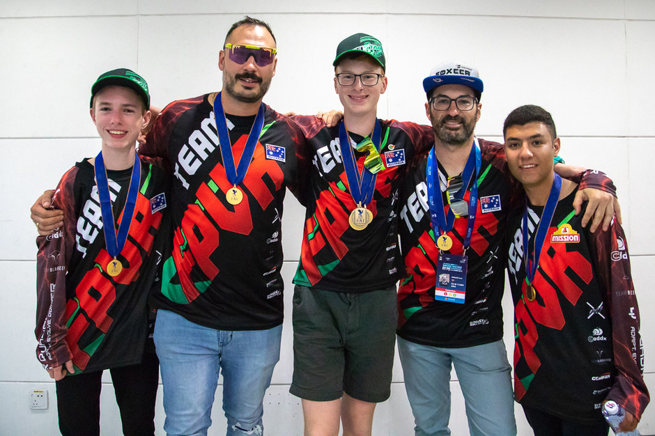 Australian Team FAI World Drone Racing Championships