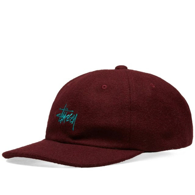 Stussy Stock Wool Low Pro Cap