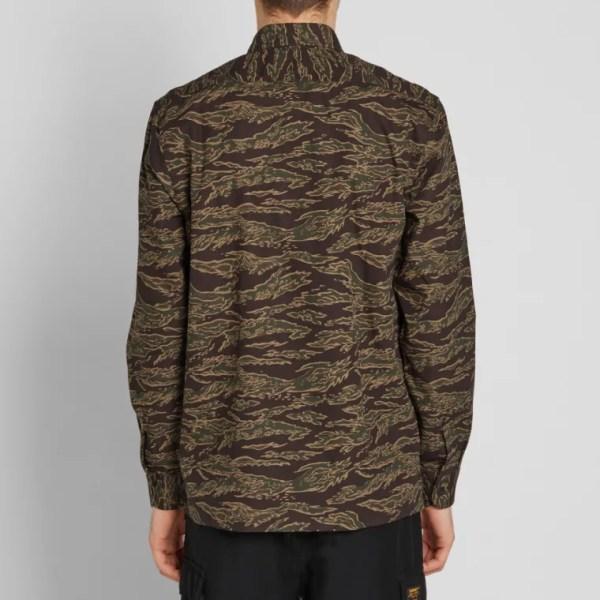 Carhartt Mission Shirt (Tiger Stripe) | END.