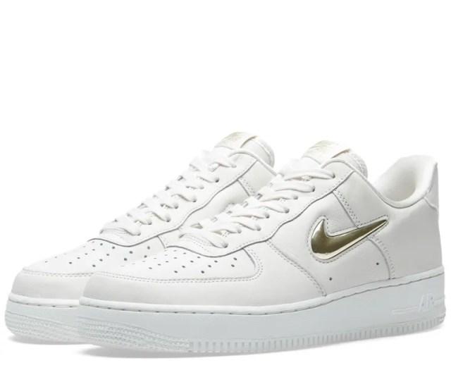 Nike Air Force 1 07 Premium Lx W Phantom Gold White 1