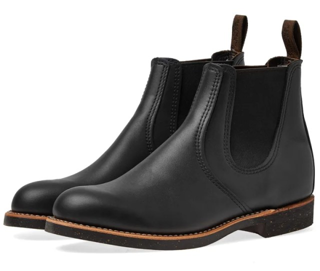 Red Wing  Heritage Chelsea Rancher Boot Black Star