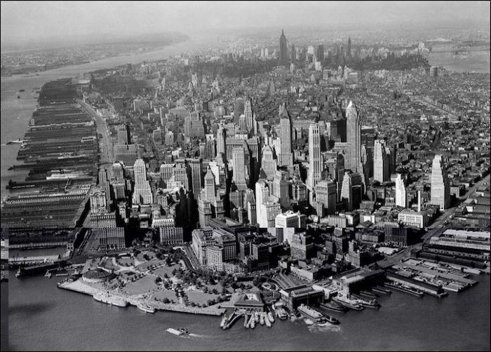Нью-Йорк Тогда Аnd сейчас