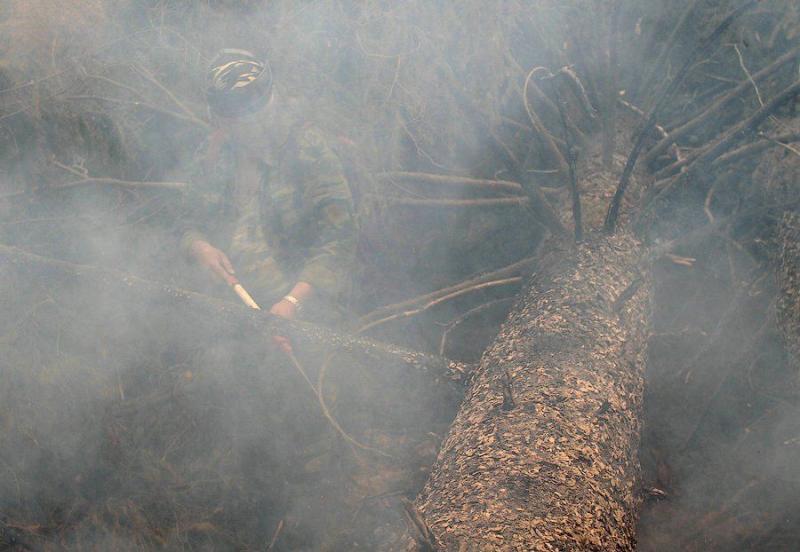 Extinguishing Wildfires 58