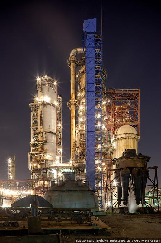 Moscow Refinery English Russia