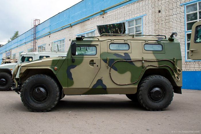 Armed Vehicles Factory 69