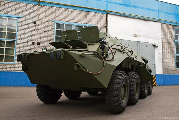 Armed Vehicles Factory 71