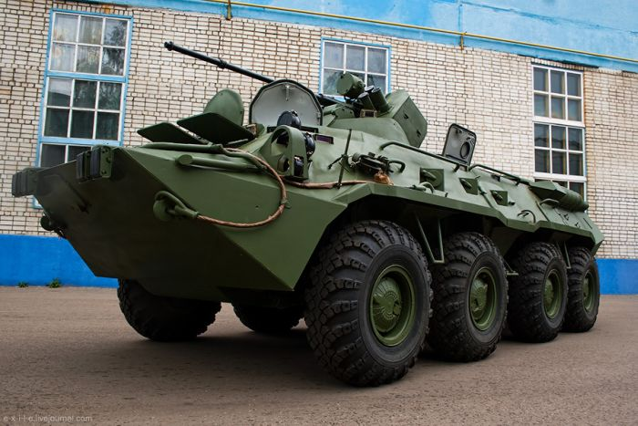 Armed Vehicles Factory 74