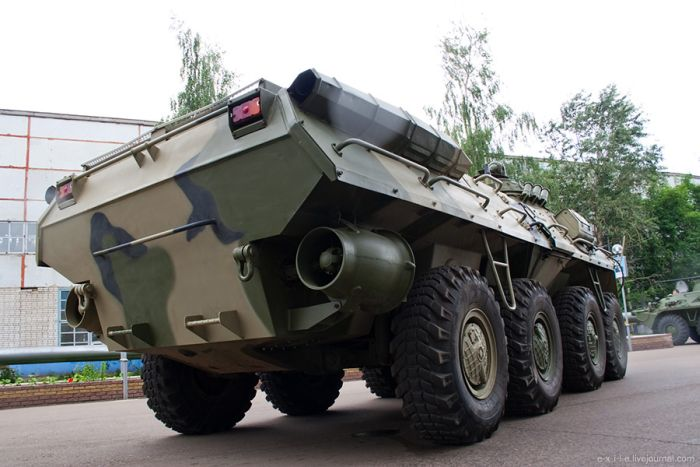 Armed Vehicles Factory 76