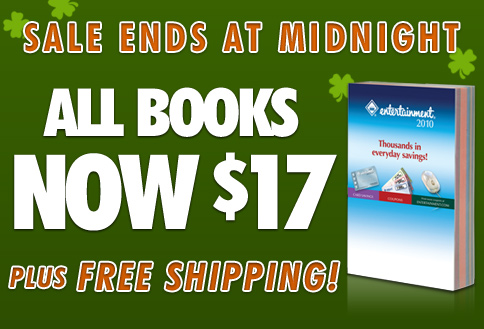 SALE ENDS AT MIDNIGHT! ALL BOOKS NOW $17 Plus, FREE SHIPPING!