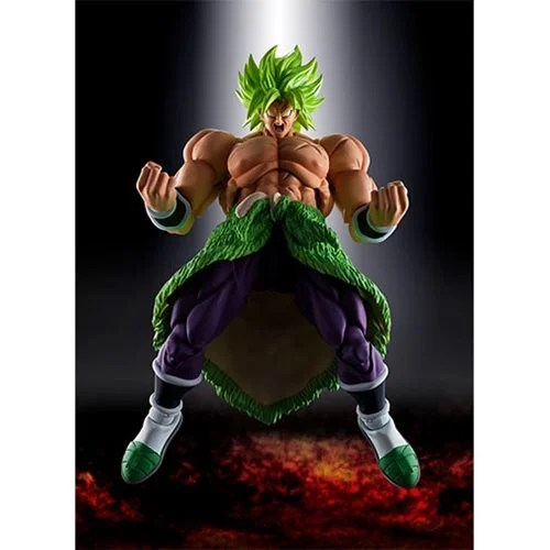 Dragon Ball Super Broly Super Saiyan Broly Full Power Sh Figuarts Action Figure