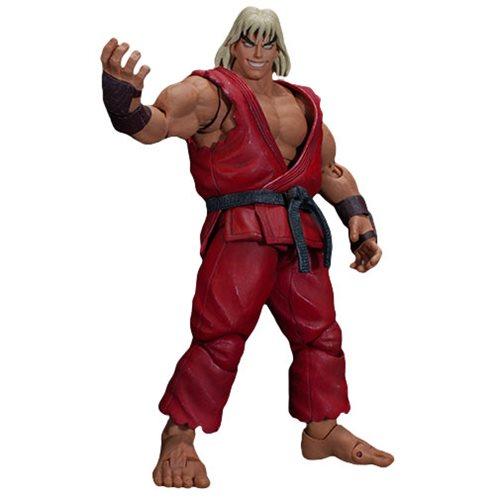 Ultra Street Fighter II Violent Ken 1:12 Scale Action Figure