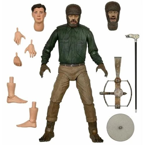 Universal Monsters Wolf Man 7-Inch Scale Action Figure