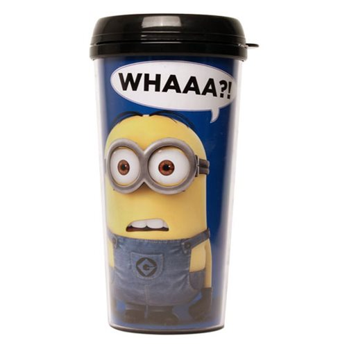 Despicable Me Whattt? Plastic Travel Cup - Entertainment Earth