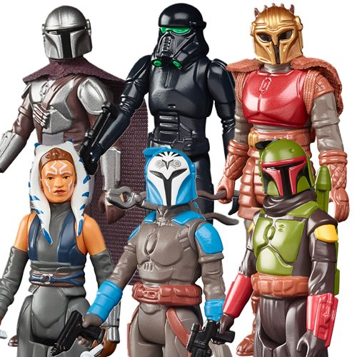 Star Wars The Retro Collection Action Figures Wave 2 Case