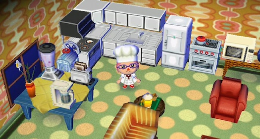 the animal crossing kitchen erin cooks