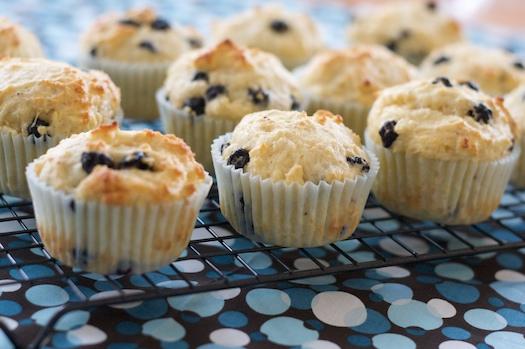 Blueberry Lemon FAGE Muffins