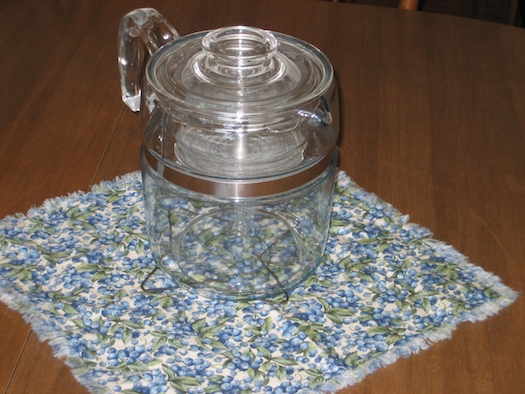 Pyrex Coffee Pot