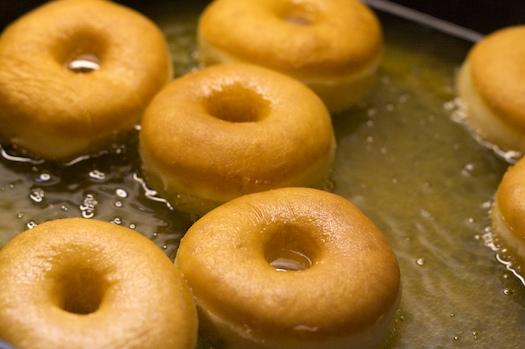 Frying Doughnuts