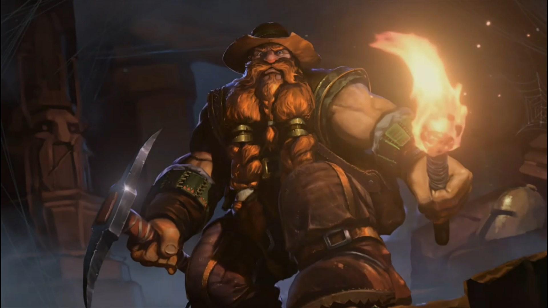 Brann Bronzebeard Exploring Mill Decks Esports Edition