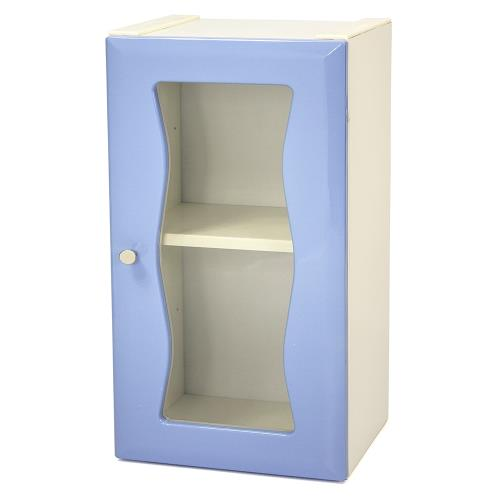 Aaronation - 時尚造型塑鋼單門浴櫃 - GU-C1010B