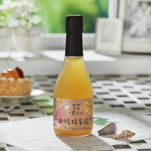 【尋蜜趣】小農夫婦的果釀蜂蜜醋(調理)300ml-金鑽鳳梨X富士蘋果