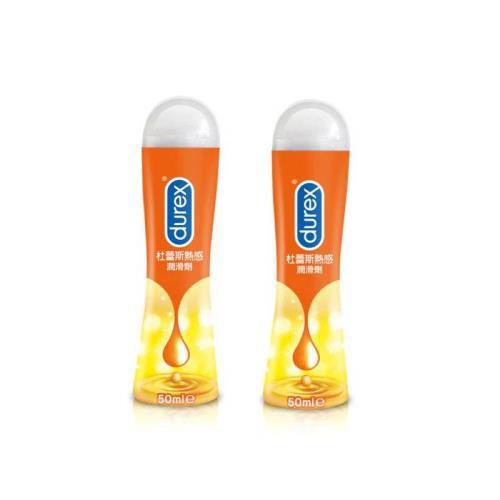 Durex杜蕾斯 真觸感情趣潤滑液50ml x2入