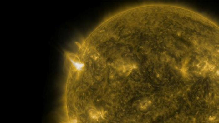 The Sun is Earth's primary power source. Energy from the Sun, called solar irradiance, drives Earth's climate, temperature, weather, atmospheric chemistry, ocean cycles, energy balance and more. Credit: NASA / Scott Wiessinger