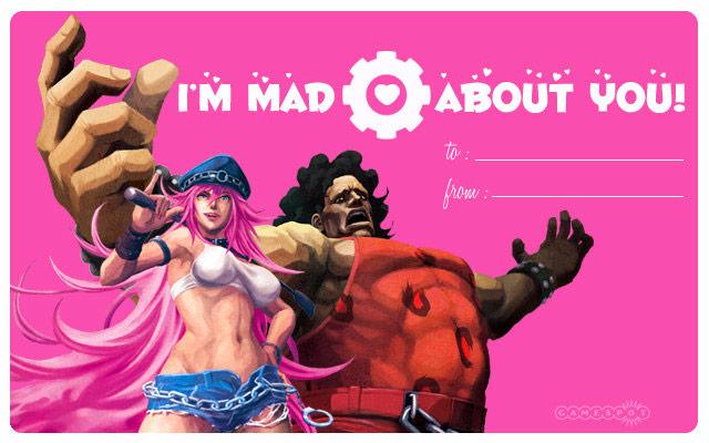 GameSpots Street Fighter X Tekken Valentines Day Cards 02